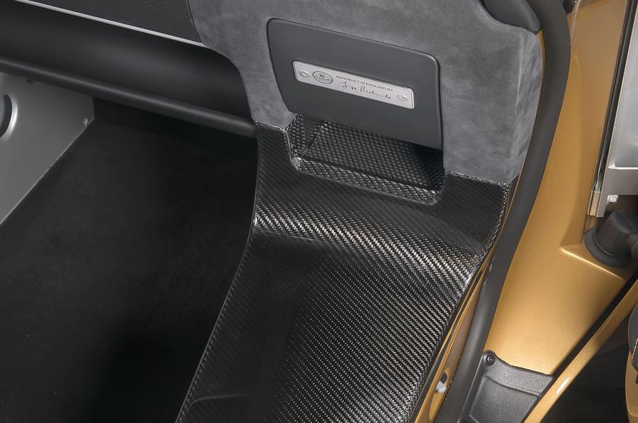 Lotus Elise Cup 260 interior