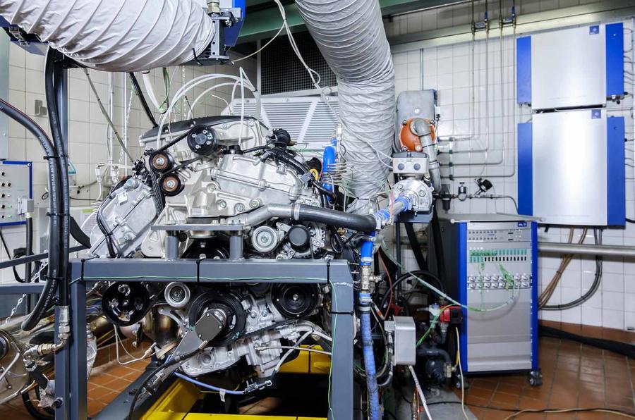 Lotus Engineering Hethel powertrain testing
