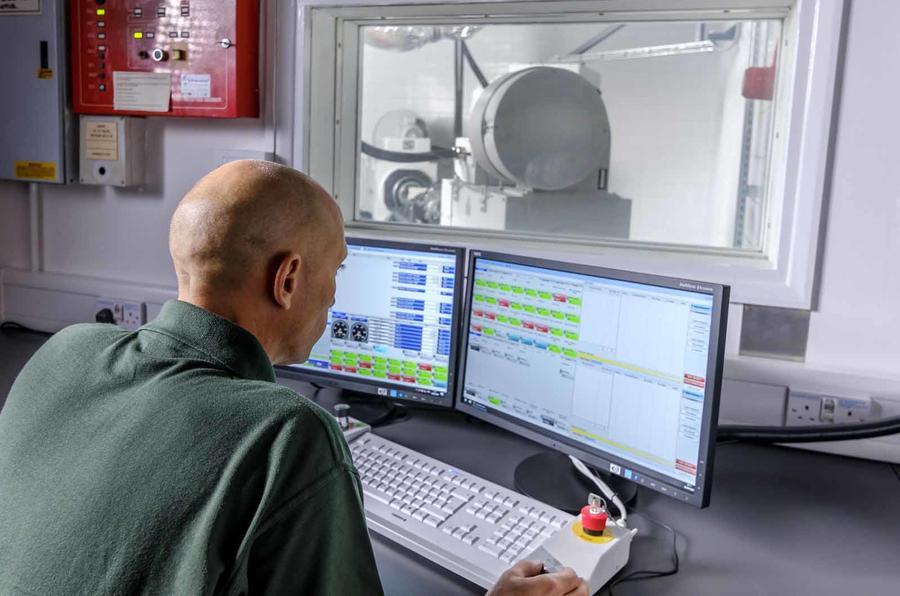 Lotus Engineering Hethel electric drive testing