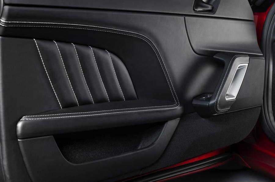 2020 Lotus Evora GT410 - door panel