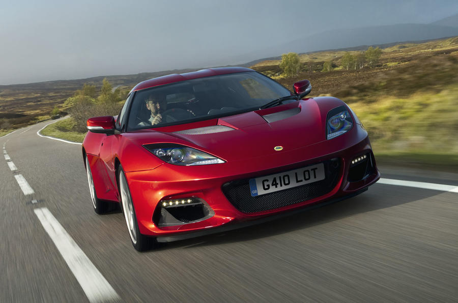2020 Lotus Evora GT410 - front