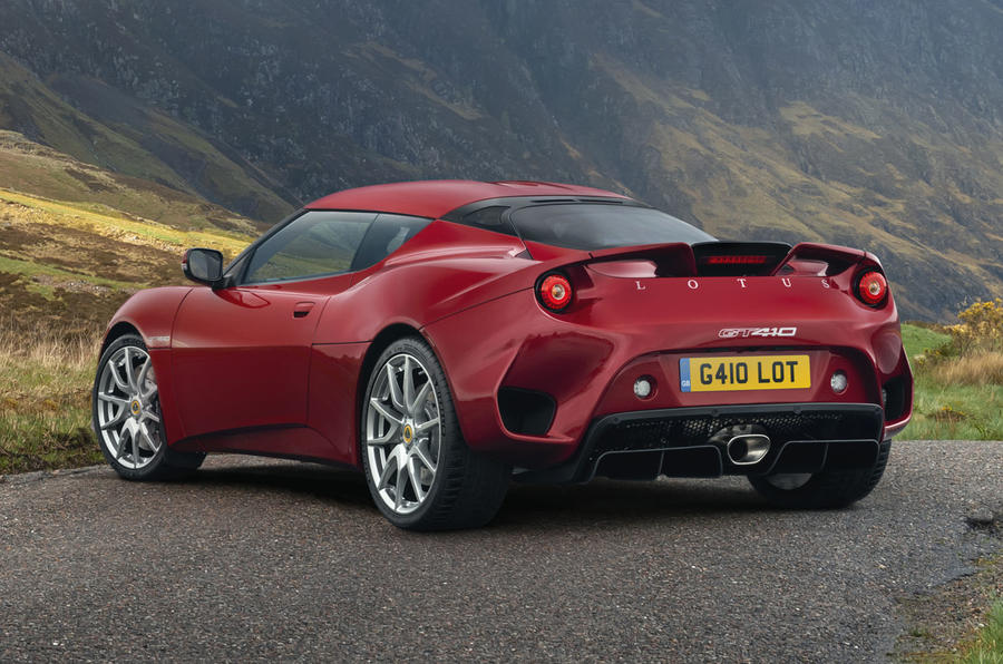 2020 Lotus Evora GT410 - static rear