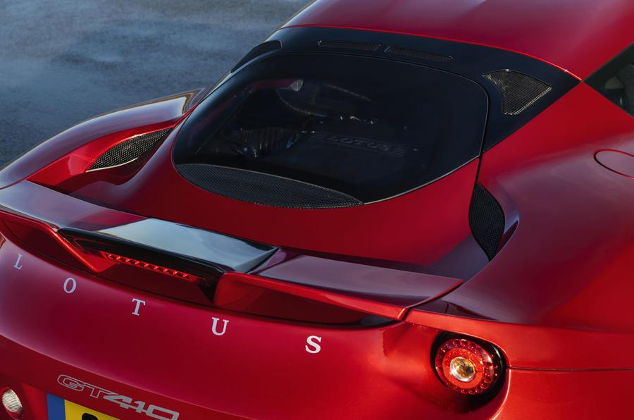 2020 Lotus Evora GT410 - rear spoiler