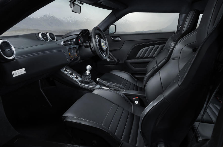 2020 Lotus Evora GT410 - interior