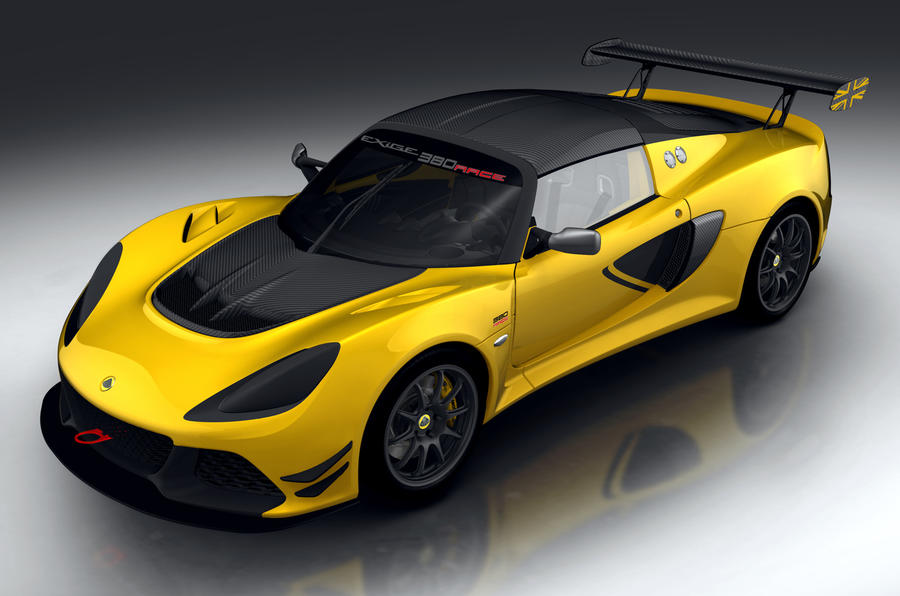 998kg Lotus Exige Race 380 racing model revealed