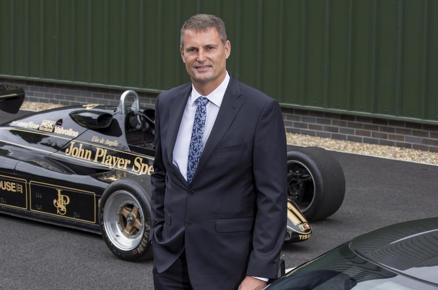 Phil Popham, Lotus boss