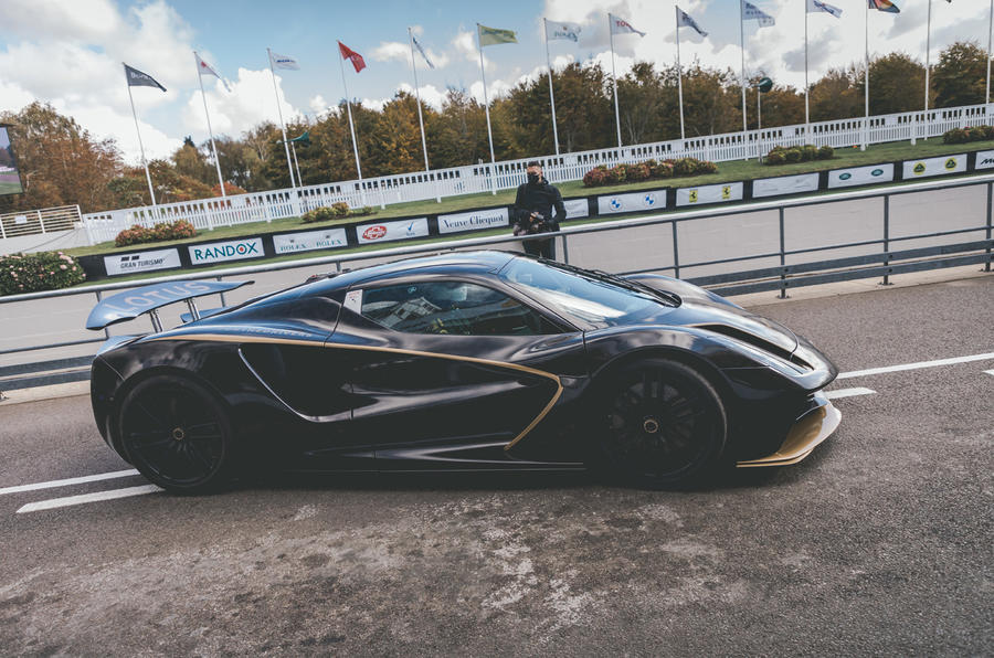 2020 Lotus Evija prototype at Goodwood Speedweek