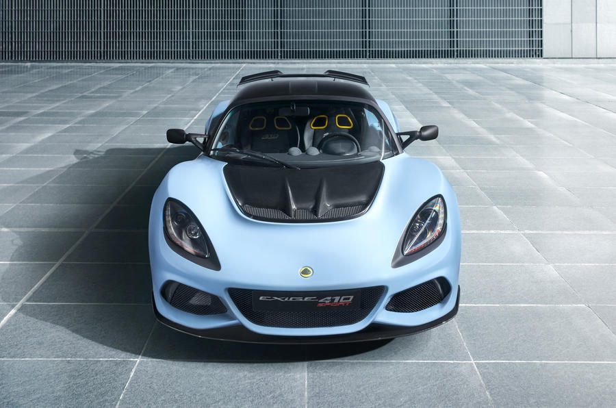The new Lotus Exige Sport 410