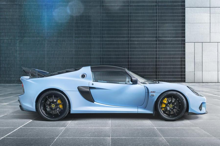 The new Lotus Exige Sport 410