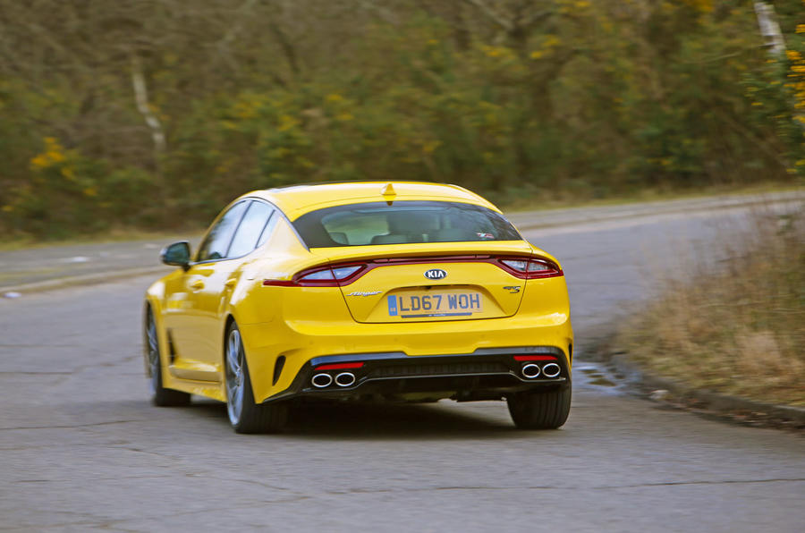 Kia Stinger GT S long-term review cornering