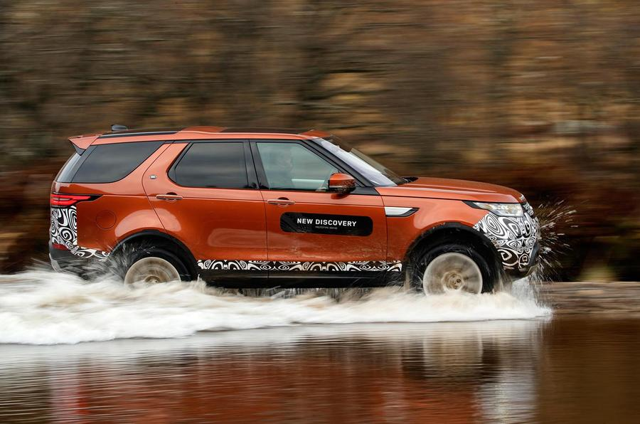 Land Rover Discovery prototype