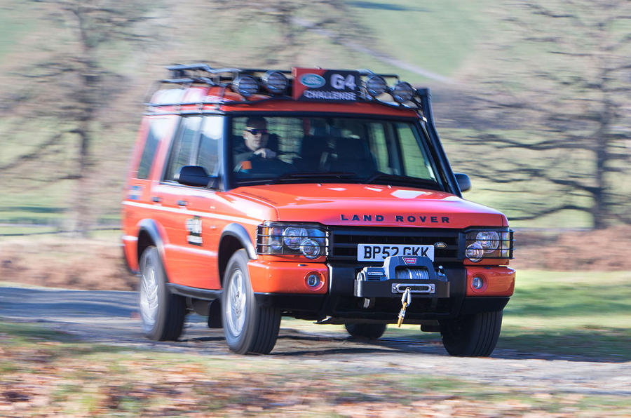 Second generation Land Rover Discovery