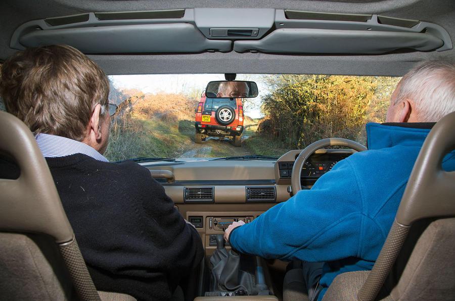 Roger Crathorne guides the S1 around Eastnor