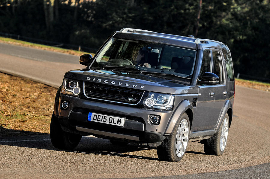 2016 land rover discovery landmark review review autocar. Black Bedroom Furniture Sets. Home Design Ideas