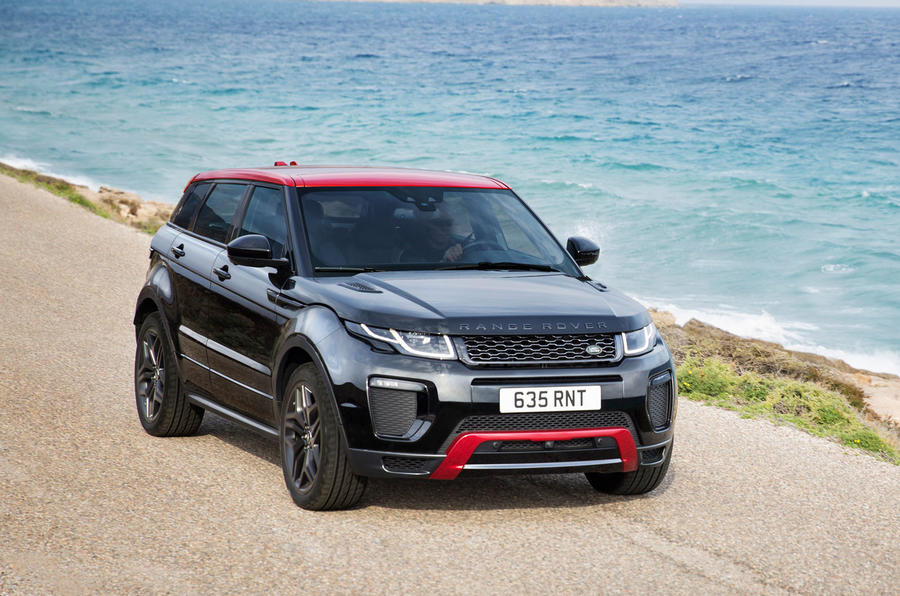 2017 range rover evoque gets new tech and special edition model autocar. Black Bedroom Furniture Sets. Home Design Ideas
