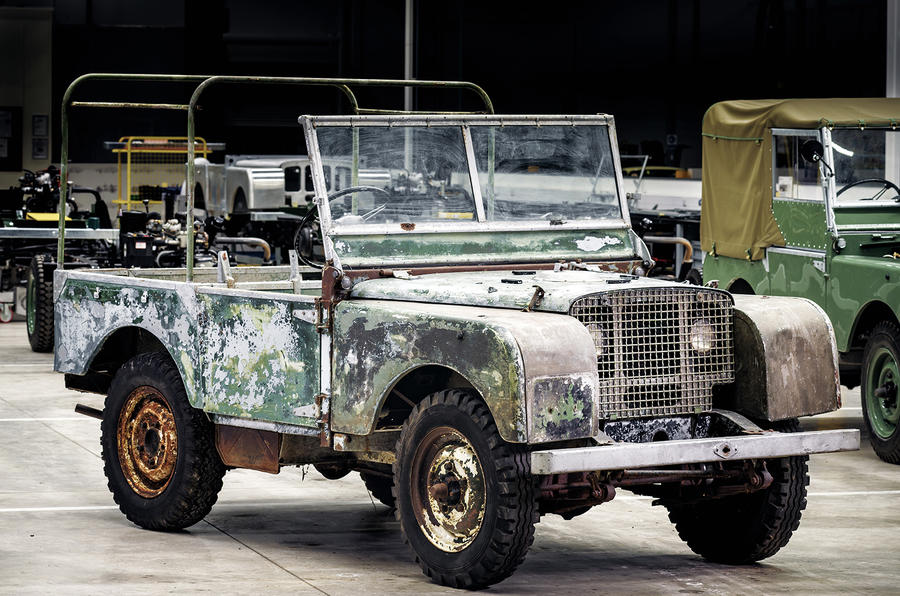 JLR Classic to restore recently discovered 1948 Land Rover launch ...
