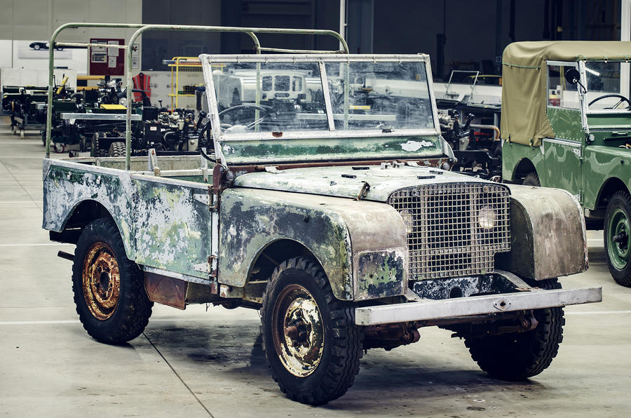 Land Rover to restore original 1948 Land Rover launch car