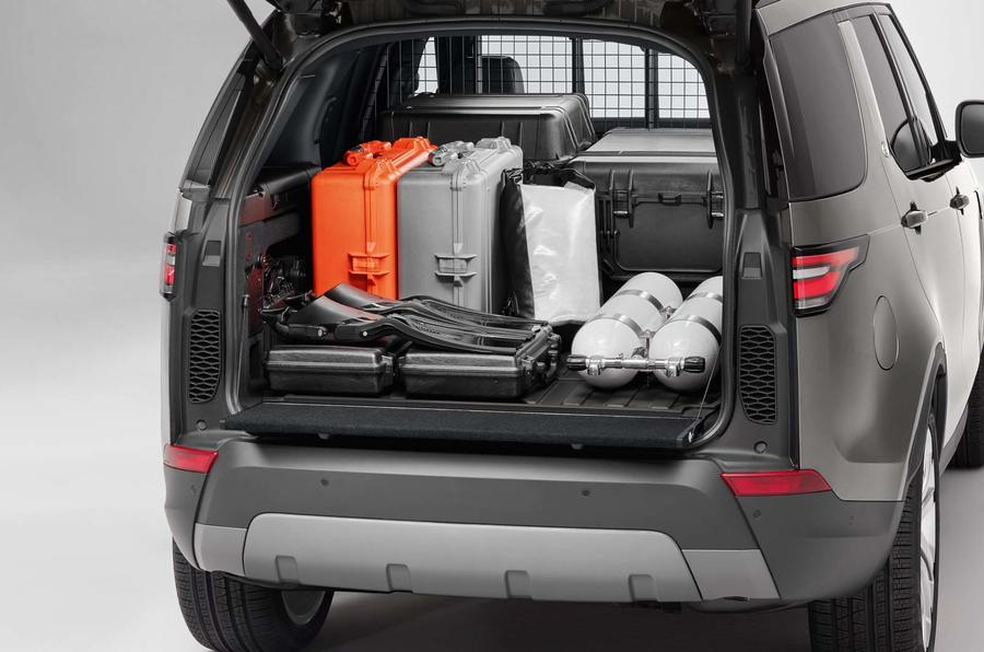 Land Rover Discovery Commercial Launched As Rugged Van