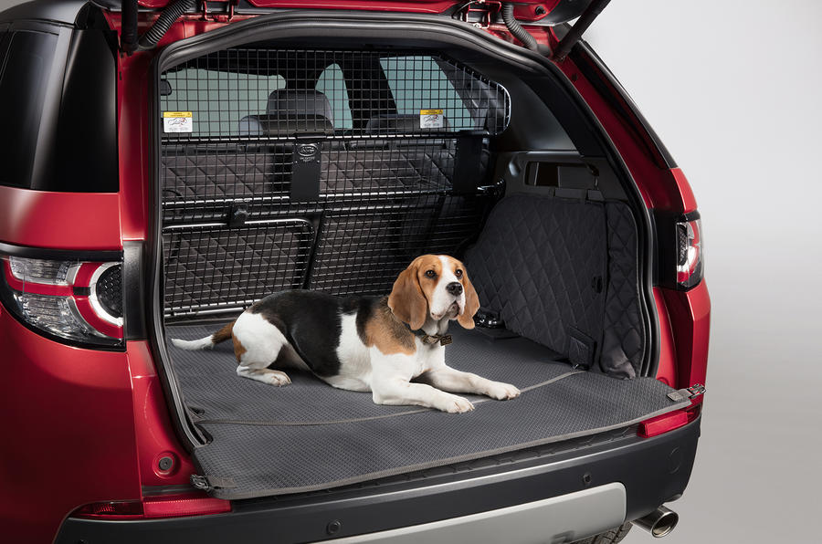 Range Rover Discovery Sport >> Land Rover Pet Packs revealed as official accessories | Autocar