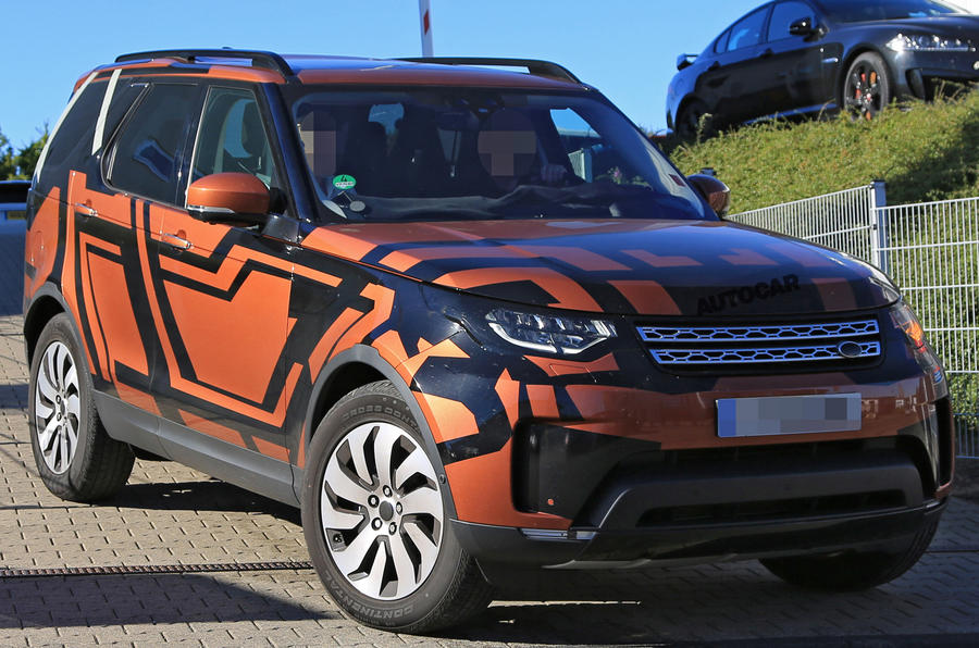 Land Rover Discovery spied with little disguise