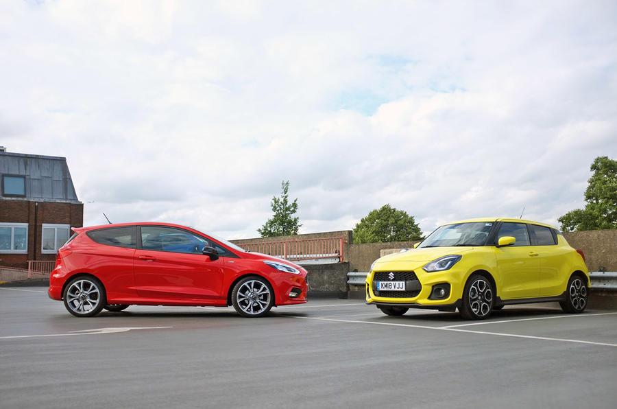 Fiesta ST line vs Suzuki Swift Sport