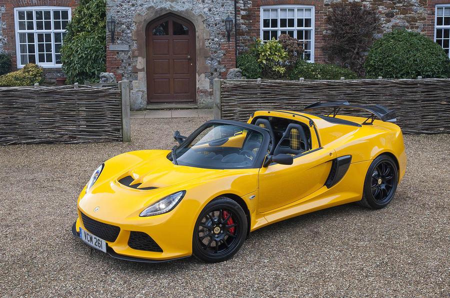 lotus exige sport 350 roadster revealed in geneva autocar. Black Bedroom Furniture Sets. Home Design Ideas