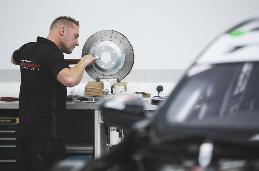 Autocar visits Team Dynamics HQ in Droitwich