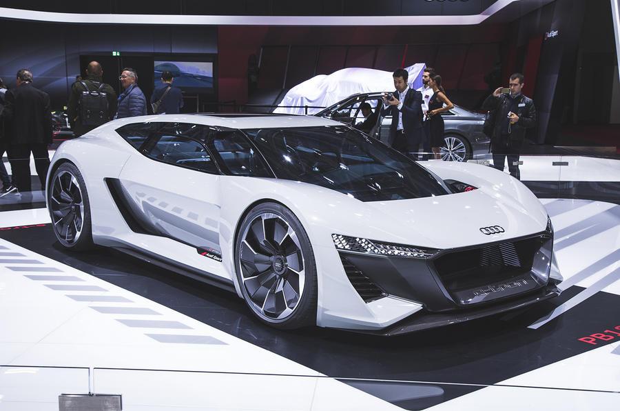 Audi unleashes 764bhp PB18 e-tron EV supercar concept