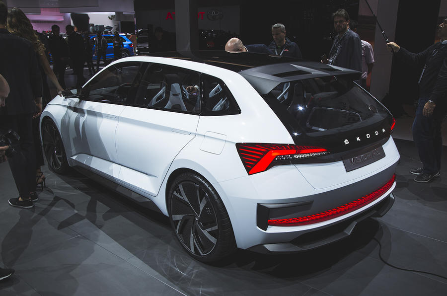 Skoda Vision RS concept previews Golf and Focus rival