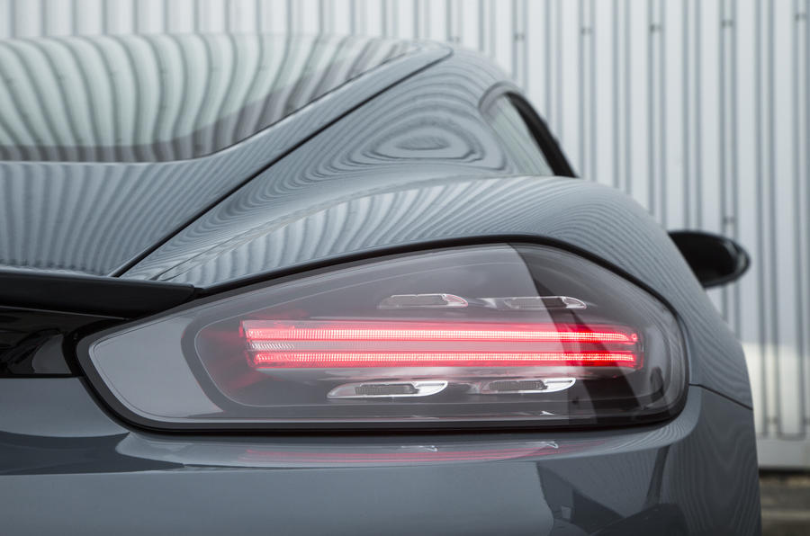 Porsche 718 Cayman rear lights