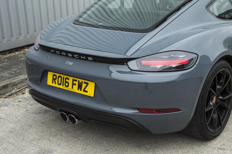 Porsche 718 Cayman rear end