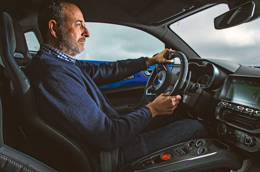 Andrew Frankel drives the Alpine A110