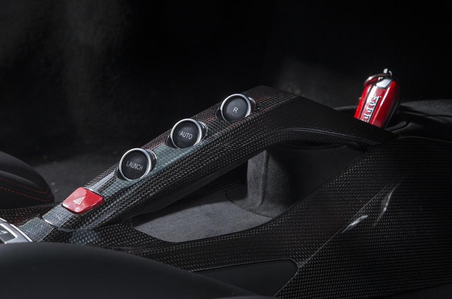 Ferrari 488 GTB automatic gearbox