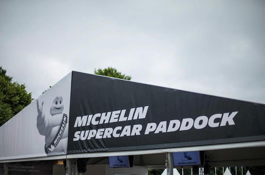 Goodwood Supercars Paddock