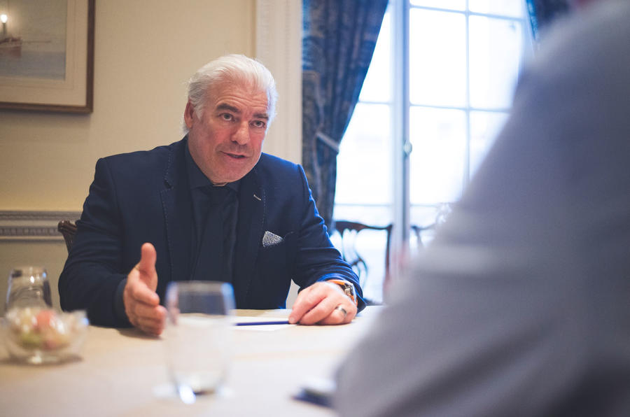 Meeting Frank Stephenson