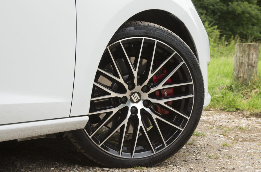 18in Seat Leon ST Cupra alloys