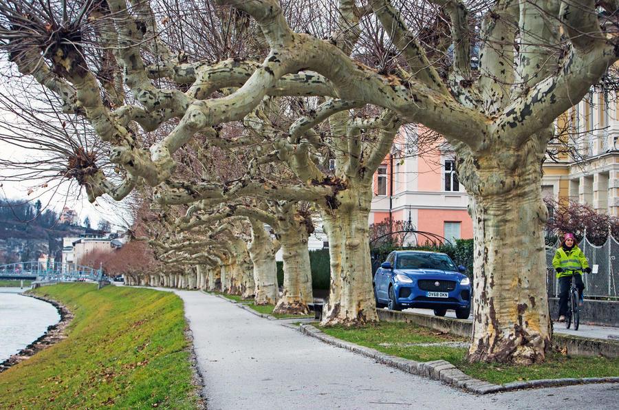 Jaguar E-Pace road trip to Graz, Austria