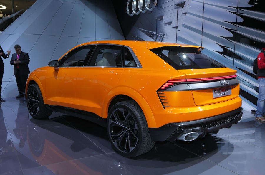 Lithium Ion Car Battery >> Audi Q8 Sport Concept previews range-topping large SUV ...