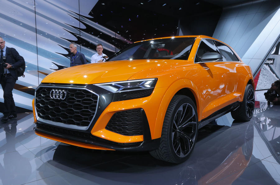 Audi Q8 Sport Concept Previews Range Topping Large Suv