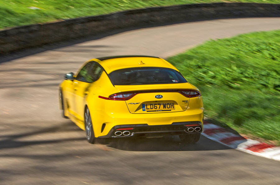 Kia Stinger GT S long-term review hill climb
