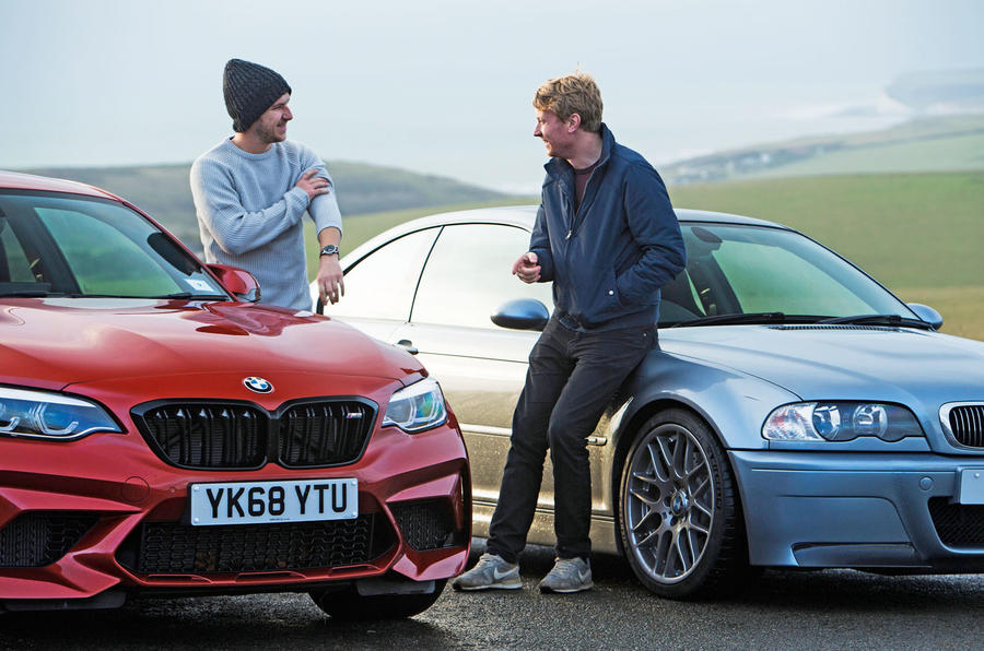 BMW M3 CSL vs. BMW M2 Competition