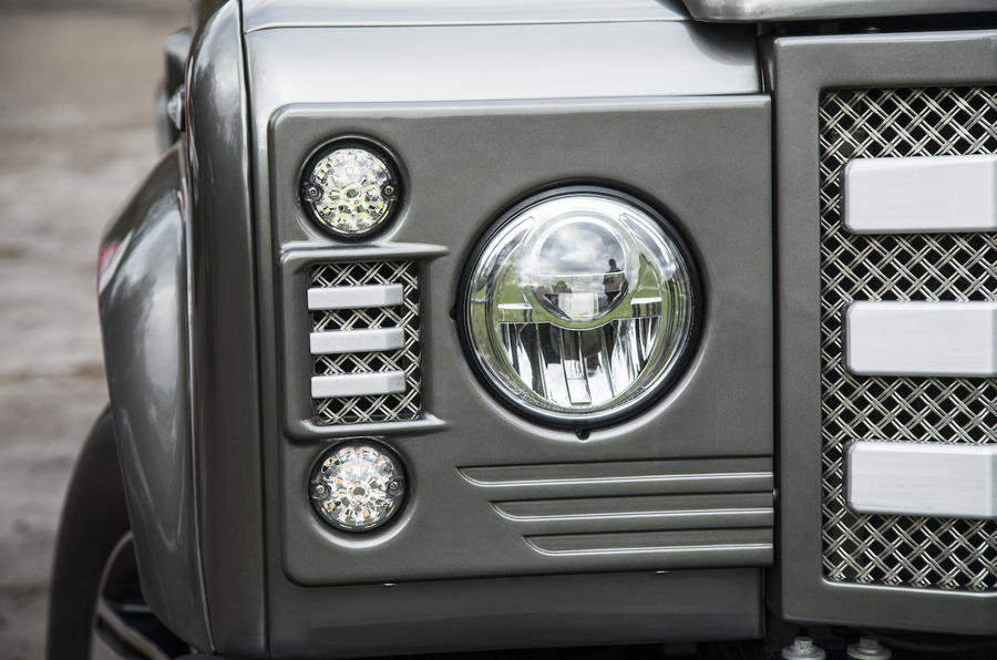JE Motorworks Zulu 2 LED headlights