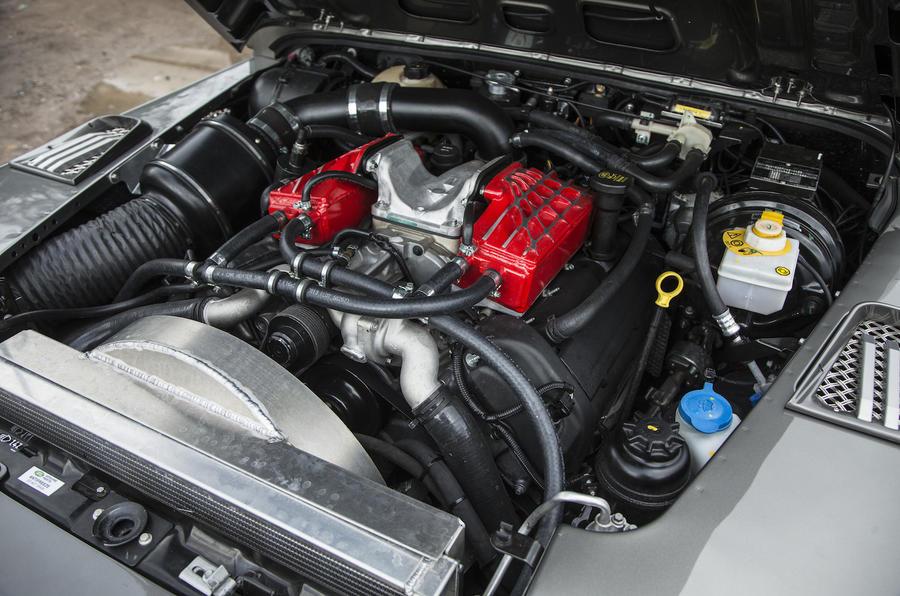 4.7-litre V8 JE Motorworks Zulu 2 engine