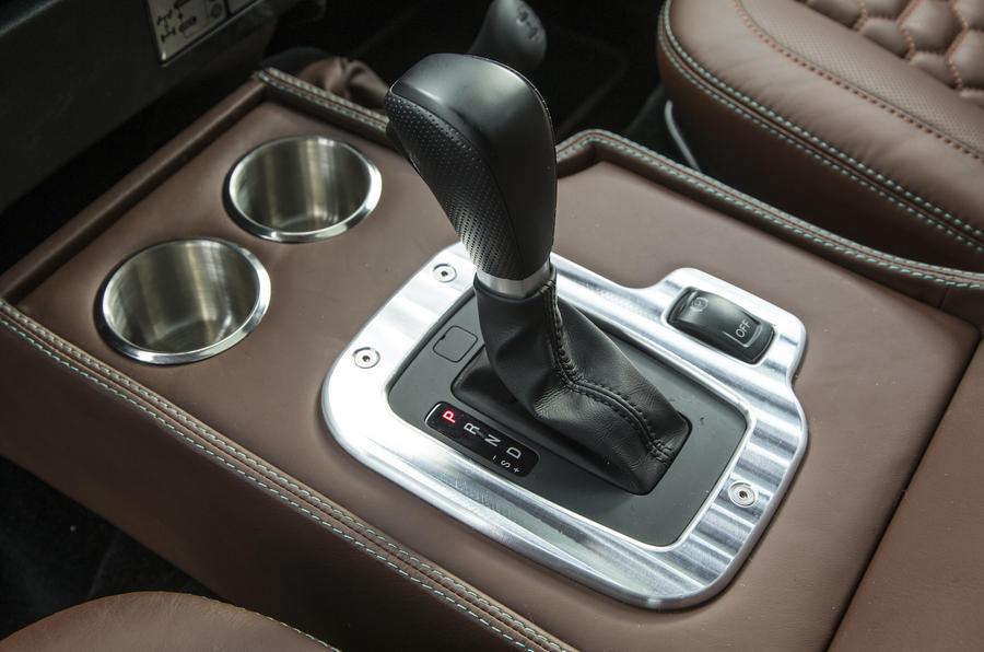 JE Motorworks Zulu 2 automatic gearbox
