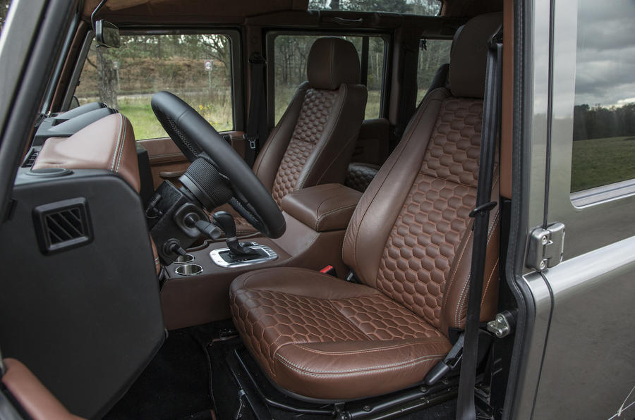 JE Motorworks Zulu 2 front seats