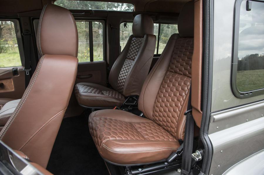 JE Motorworks Zulu 2 rear seats