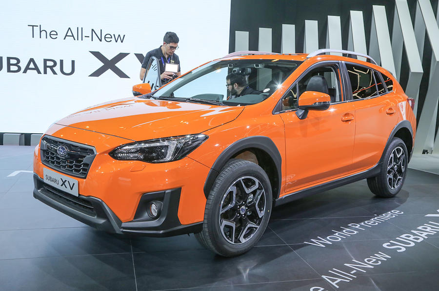 New Subaru Xv >> New Subaru Xv To Go On Sale In 2018 Autocar