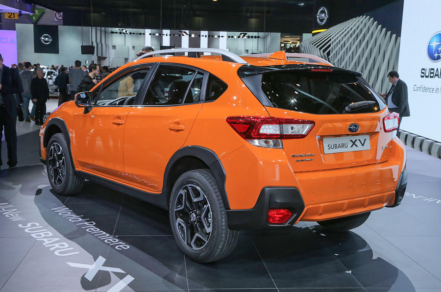 new subaru xv to go on sale in 2018 autocar. Black Bedroom Furniture Sets. Home Design Ideas