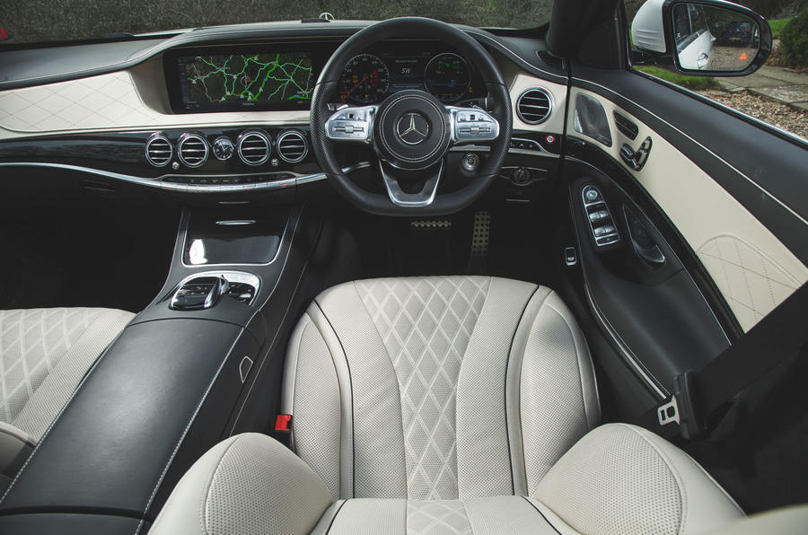 Mercedes-Benz S-Class - driver's seat