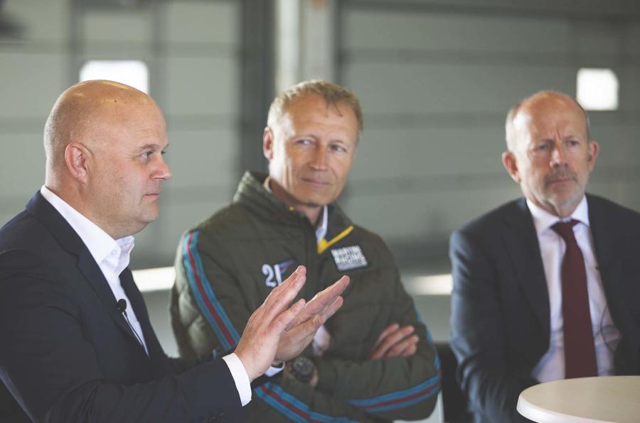 Mike Cross, Matt Becker and Andreas Preuninger speak to Autocar